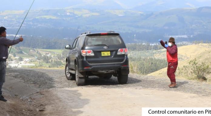 Control comunitario en Pitaná Bajo